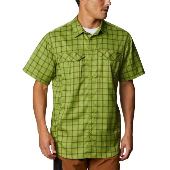 Columbia Silver Ridge Lite Plaid Shirt - Matcha Smal