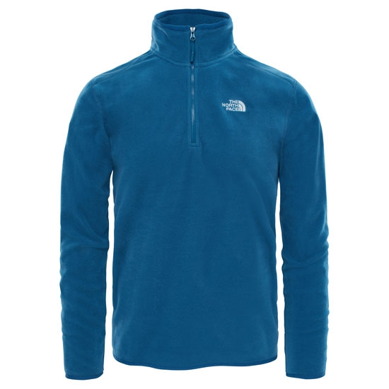 The North Face 100 Glacier ¼ Zip - Monterey Blue