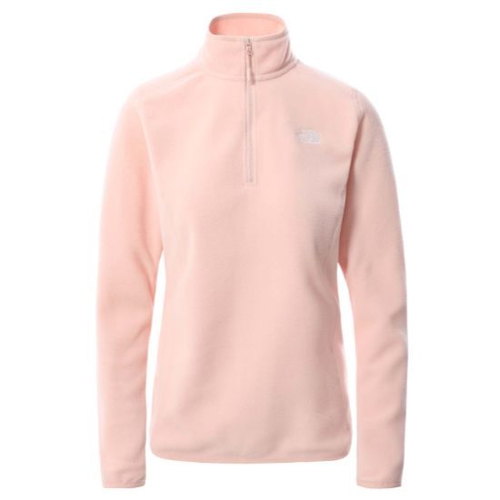 The North Face 100 Glacier 1/4 Zip W - Evening Sand Pink