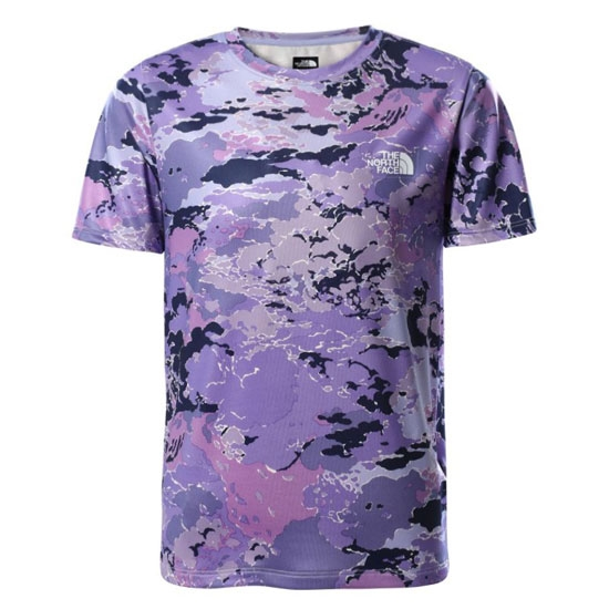 The North Face Reactor Tee Youth - Sweet Lavender Cloud