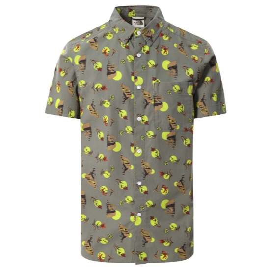 The North Face Baytrail Pattern Shirt - Agave Green