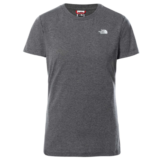 The North Face Graphic Tee W - Medium Grey Heat