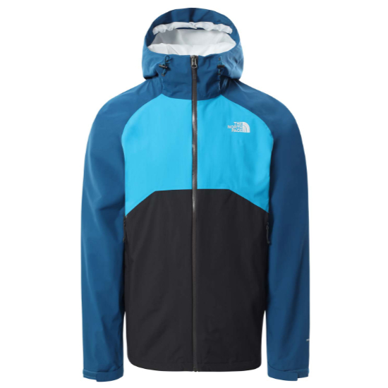 The North Face Stratos Jacket - Asphalt Grey/Moroccan Blue