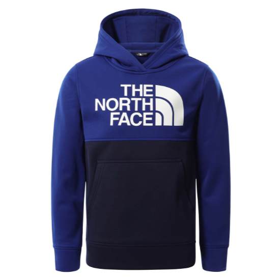 The North Face Surgent Pullover Block Hoodie Boy -  Bolt Blue