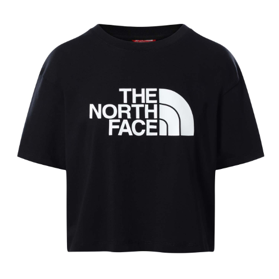 The North Face Easy Cropped Tee W - TNF Black