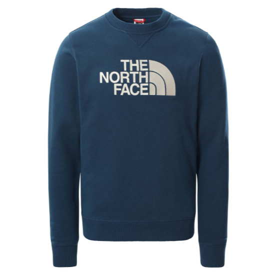 The North Face Drew Peak Crew - Monterey Blue