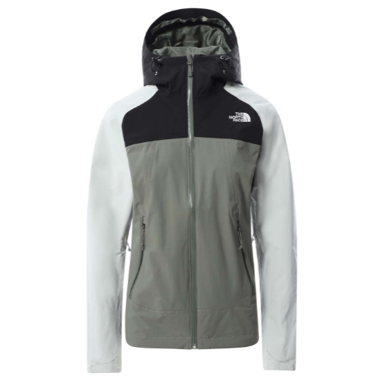 The North Face Stratos Jacket W - Agave Green/TNF Black