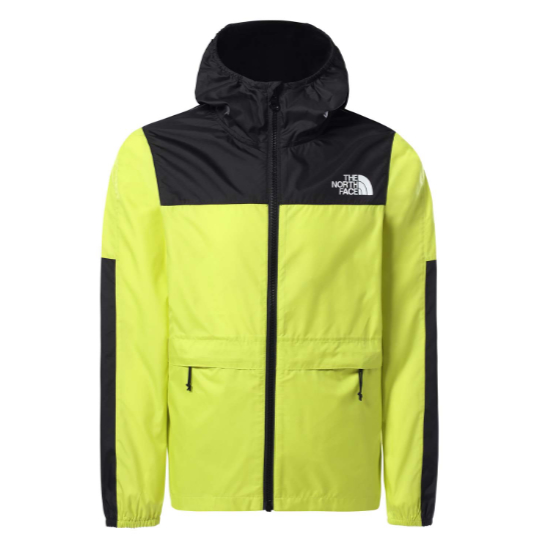 The North Face Lobuche Wind Jacket Youth - Suphur Yellow