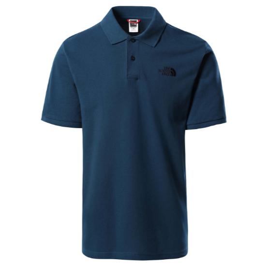 The North Face Piquet Polo Shirt - Monterey Blue