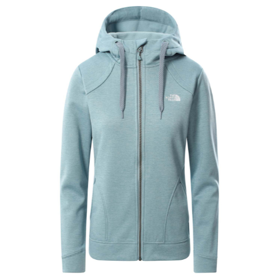 The North Face Kutum FZ Hoodie W - Tourmaline Blue