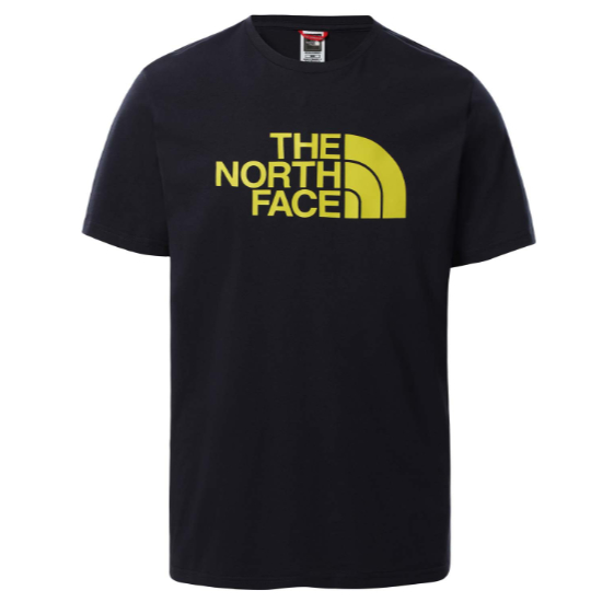 The North Face Easy Tee - Aviator Navy/Citronelle