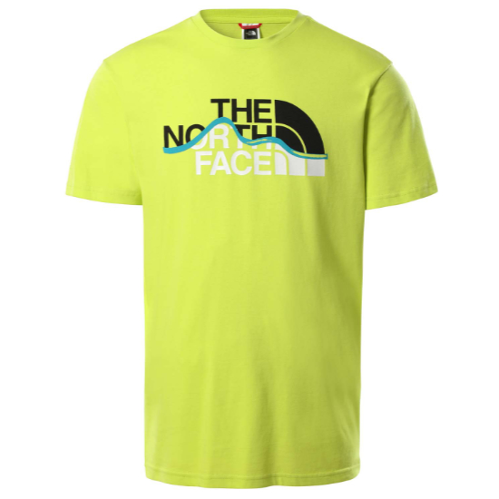 The North Face Mountain Line Tee - Sulphur Spring