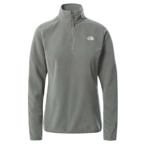 The North Face 100 Glacier 1/4 Zip W - Agave Green