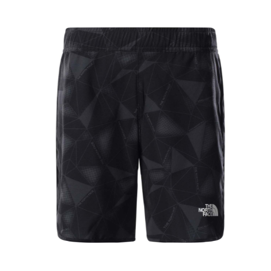The North Face Running Tech Shorts Boy - Grey Scale Climb