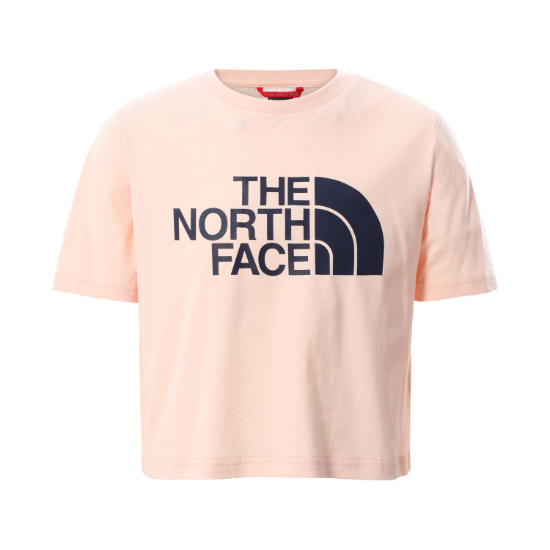 The North Face Easy Cropped Tee Girl - Pearl Blush