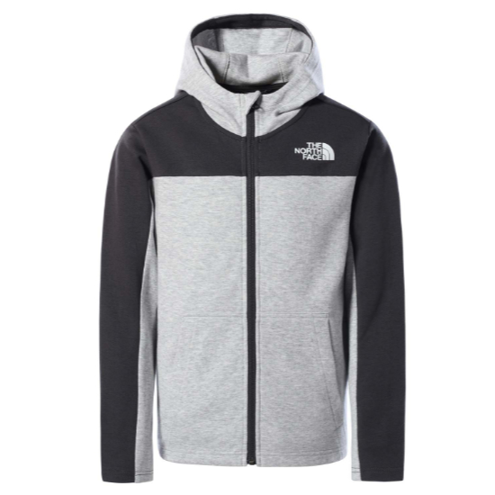 The North Face Slacker Hoodie Boy - Tnf Light Grey