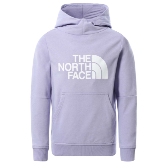 The North Face Drew Peak PO Hoodie Girl - Sweet Lavend