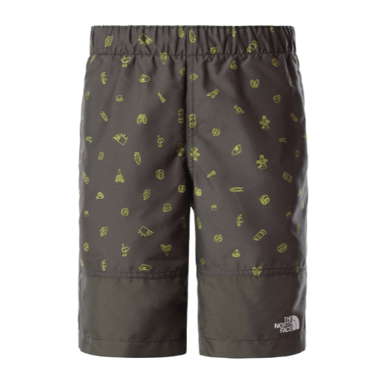The North Face Class V Water Short Boy - New Taupe Green