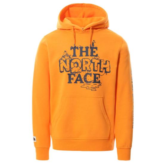The North Face Himalayan Bottle Source PO Hoodie - Light Exuberance Orange