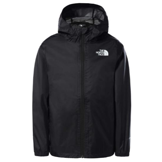 The North Face Zipline Rain Jacket Girl - TNF Black