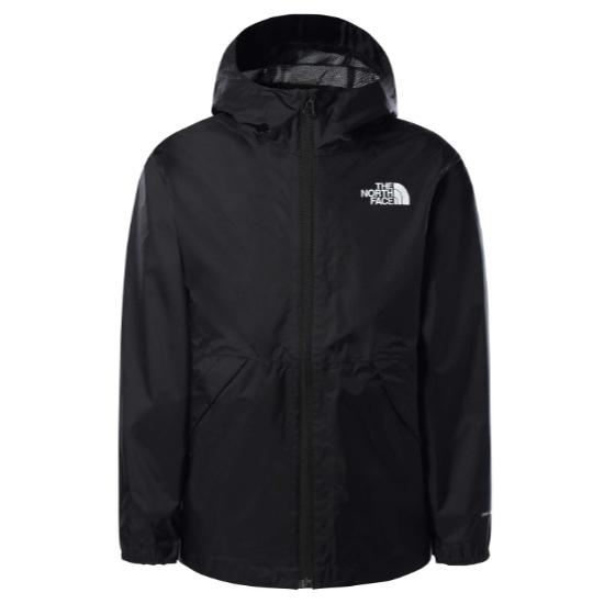 The North Face Zipline Rain Jacket Boy -  TNF Black
