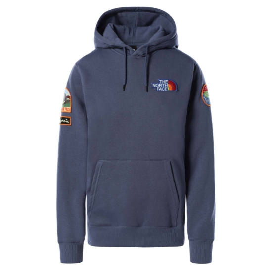 The North Face Novelty Patches Hoodie W - Vintage Indigo
