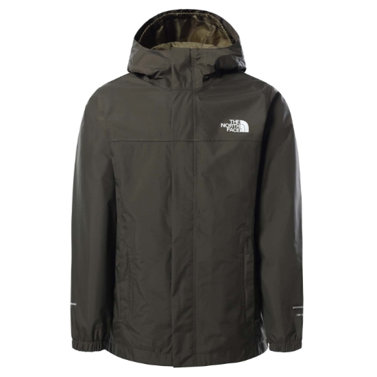 The North Face Resolve Reflective Jacket Boy - New Taupe Green