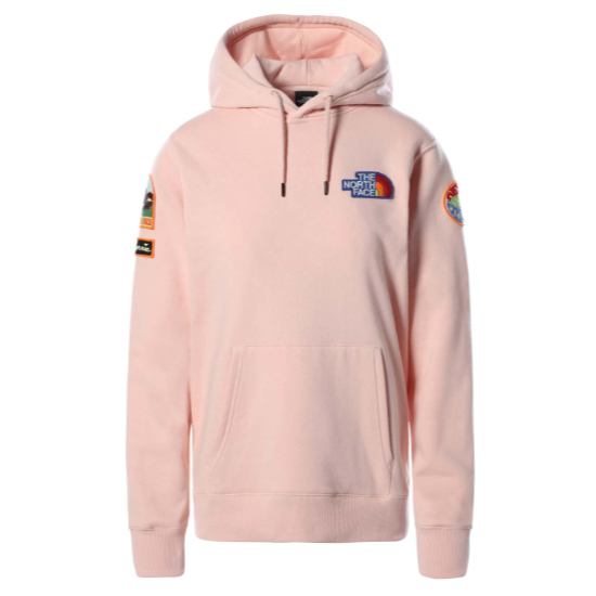 The North Face Novelty Patch Hoodie W - Evening Sand Pink