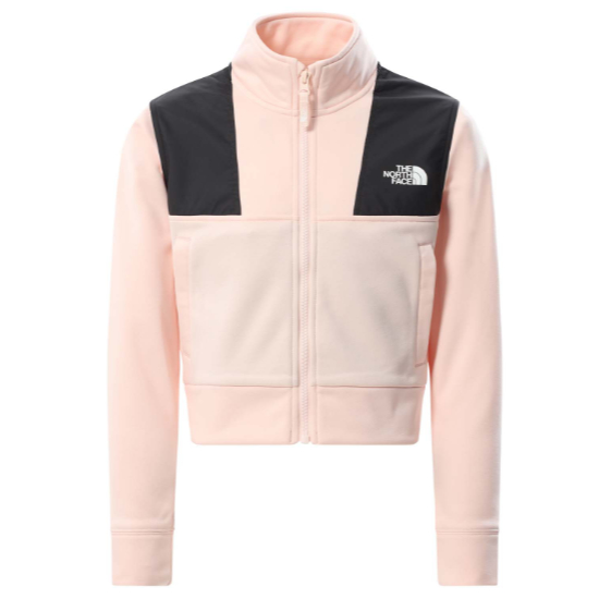 The North Face Surgent Cropped Fleece Girl - Pearl Blush