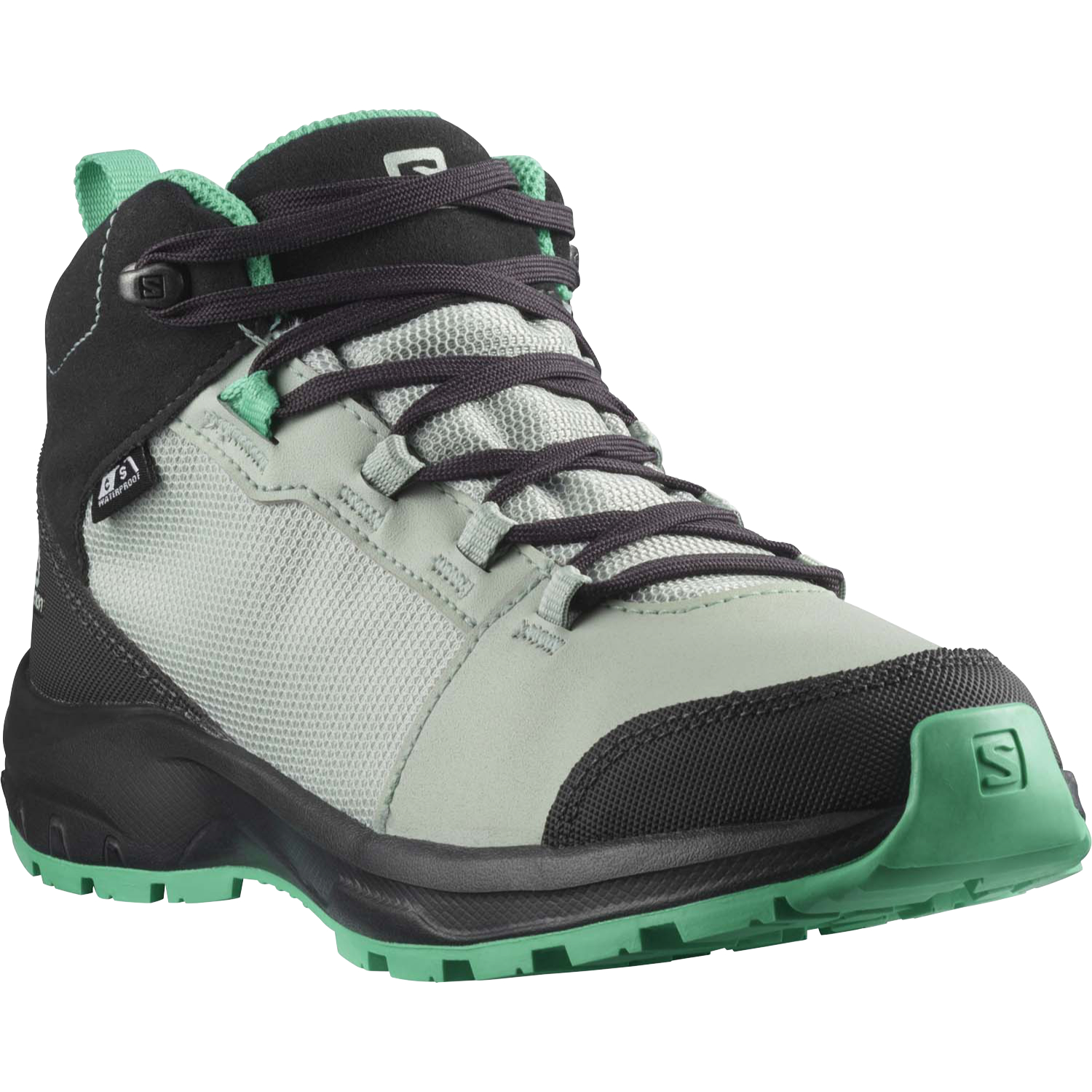 Salomon OUTward CSWP Jr - Phantom Aqua Gray Mint