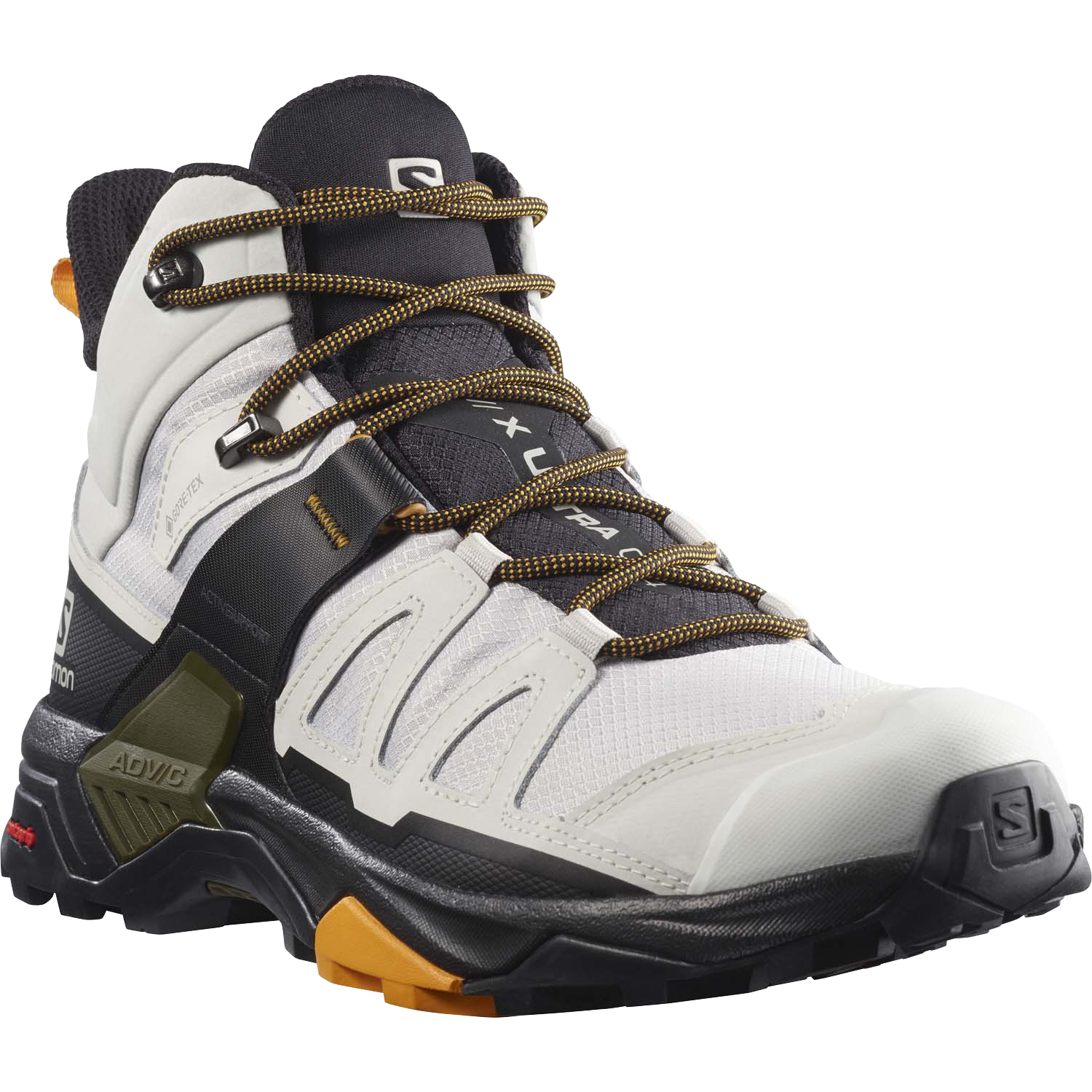 Salomon X Ultra 4 Mid GTX - Lunar Rock Magnet But
