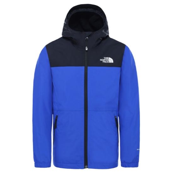 The North Face Warm Storm Rain Jacket Jr - Tnf Blue