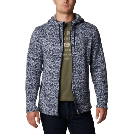 Columbia Chillin Hooded Fz Fleece - BLUE