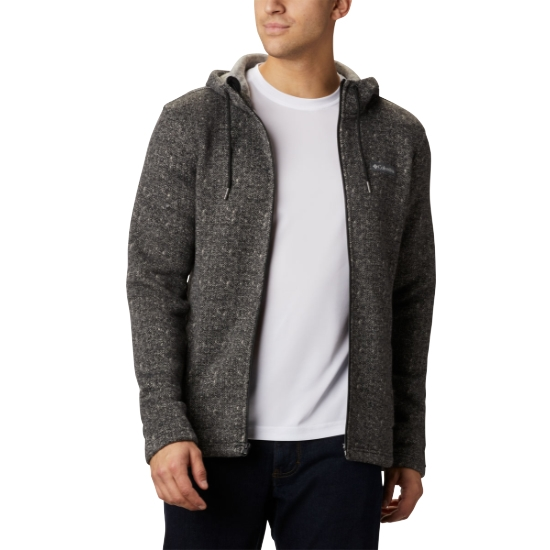 Columbia Chillin Hooded Fz Fleece - Black
