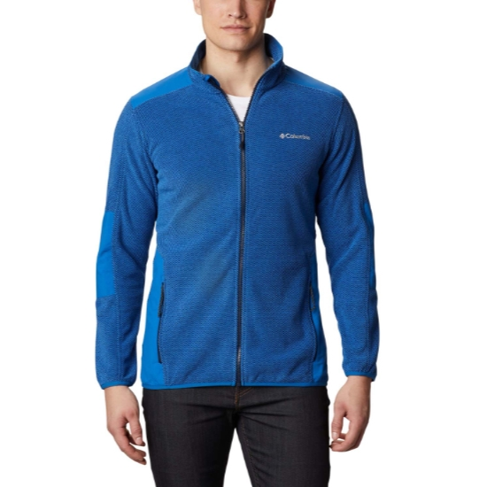 Columbia Tough Hiker Full Zip Fleece - Blue