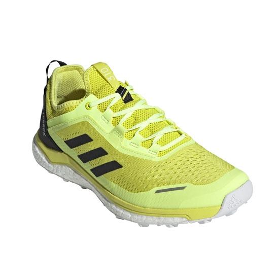 Adidas Terrex Agravic Flow - Acid Yellow / Core Black / Hi-Res Yellow