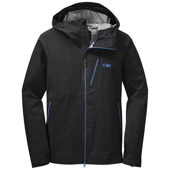 Outdoor Research Axiom Jacket - Black/Tahoe