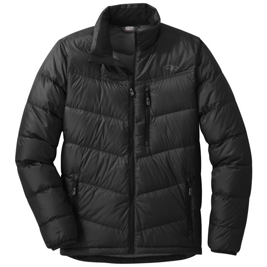 Outdoor Research Transcendent Down Jacket - Black