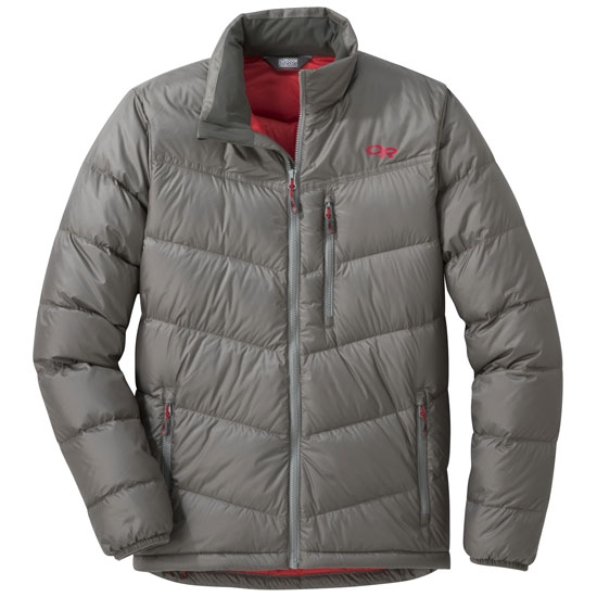 Outdoor Research Transcendent Down Jacket - Pewter