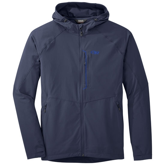 Outdoor Research Ferrosi Hooded Jacket - Naval Blue
