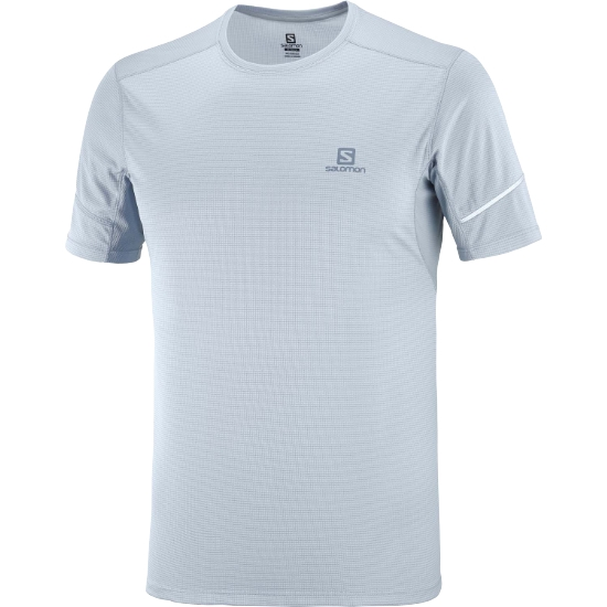 Salomon Agile Tee - Ashley Blue