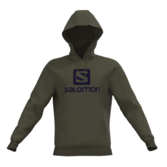 Salomon Outlife Logo PO Hoody - Olive Night