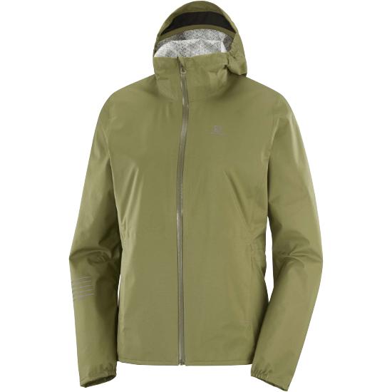 Salomon Lightning Wp Jacket W - Martini Olive