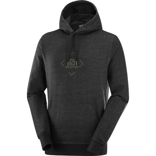 Salomon Shift Hoodie - Black/Olive Night
