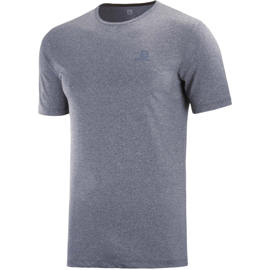 Salomon Agile Training Tee - Night Sky/Heather