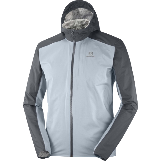 Salomon Bonatti WP Jacket - Ashley Blue/Ebony