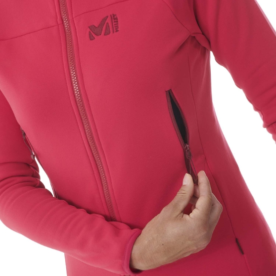 Millet Fusion Power Jacket W - Photo of detail
