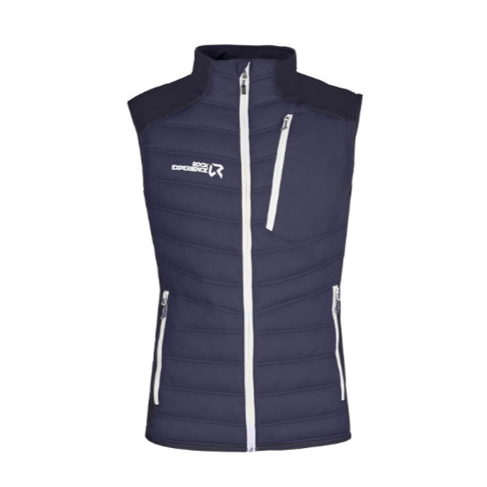 Rock Experience Parker Hybrid Vest - Blue Nights/Marshmallow