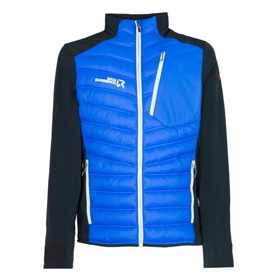 Rock Experience Parker Hybrid Jacket - Directoire Blue/Ebony