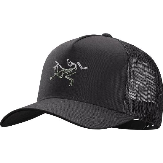 Arc'teryx Polychrome Bird Trucker - Black